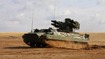 Автоматизированный зенитный ракетный комплекс Сосна