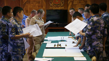 Проведение тактической летучки во время совместных военных учений России и Китая. Архивное фото