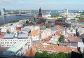 Вид на столицу Латвии город Ригу