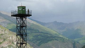Пограничная вышка управления ФСБ России. Архивное фото