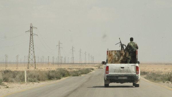 Сирийские ополченцы. Архивное фото.