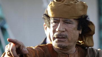 Бывший президент Ливии Муаммар Каддафи. Архивное фото