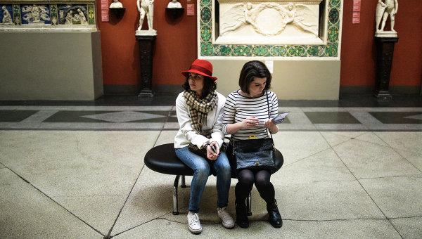 Посетители музея. Архивное фото
