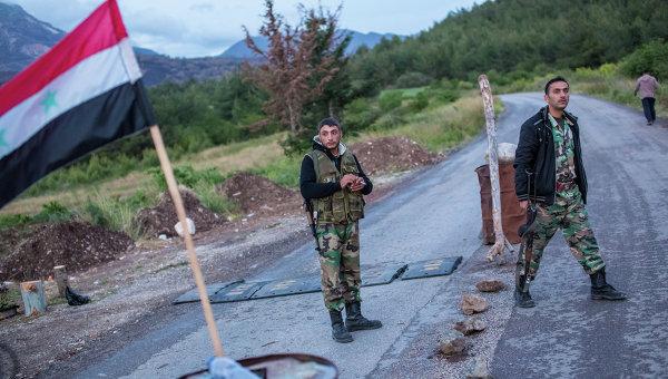 Блокпост в провинции Латакия, на границе с Турцией. Архивное фото
