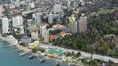 Вид на город Сочи. Архивное фото