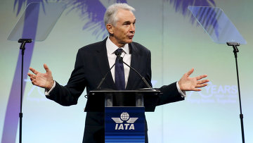 Глава Международной ассоциации воздушного транспорта (ИАТА) Тони Тайлер