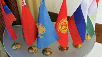 Флаги стран участниц Шанхайской организации сотрудничества. Архивное фото