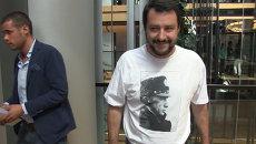 Мой ответ еврокретинам – итальянский политик о надетой им футболке с Путиным