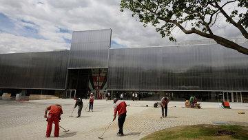 Новое здание музея современного искусства Гараж в Парке Горького