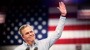 Экс-губернатор Флориды, кандидат в президенты США Джеб Буш. Архивное фото