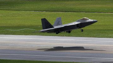 Истребитель ВВС США F-22 Raptor