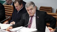 Сенатор Владимир Джабаров. Архивное фото