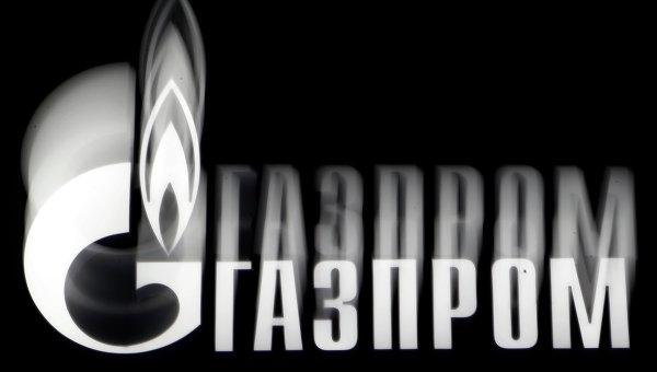 Логотип компании Газпром. Архивное фото