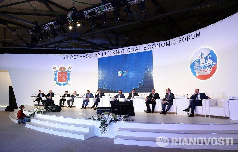 Панельная сессия Арктика — новое экономическое пространство в рамках ПМЭФ 2015