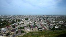 Вид на город Дербент