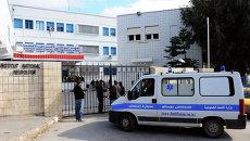 Автомобиль скорой помощи в Тунисе. Архивное фото