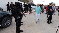 Сотрудники полиции Туниса. Архивное фото