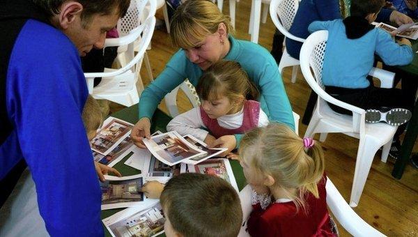 Одна из приемных семей Детской деревни Виктория