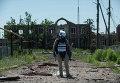 Наблюдатель миссии ОБСЕ под Донецком