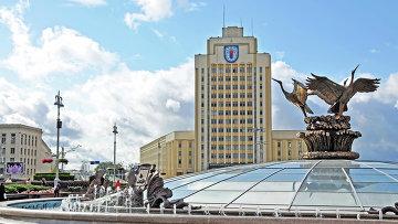 Площадь Независимости, Минск. Архивное фото
