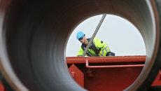 Cтроительство газопровода Северный поток (Nord Stream). Архив