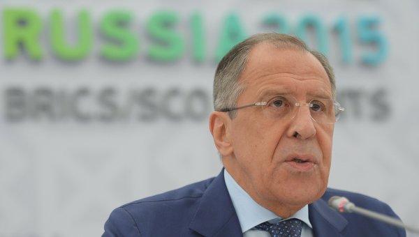 Брифинг Министра иностранных дел Российской Федерации Сергея Лаврова