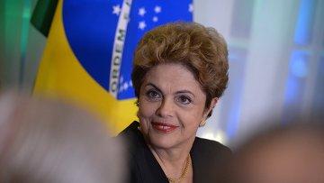 Президент Бразилии Дилма Руссефф. Архивное фото