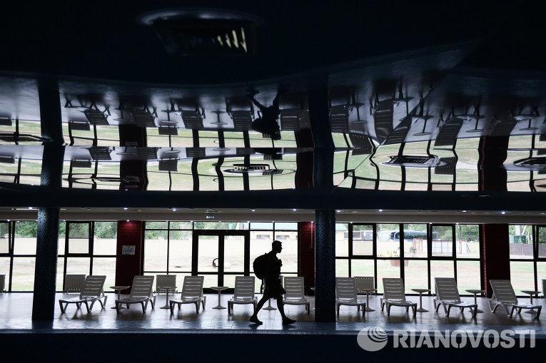 Здание спортивного парка Олимпия в Волгограде
