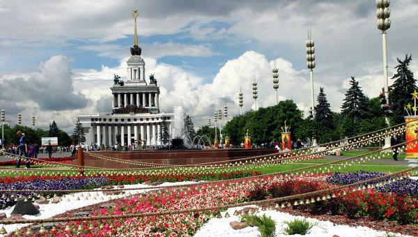 Центральный павильон ВДНХ. Архивное фото