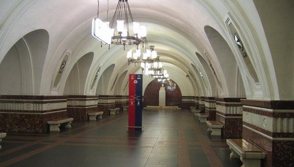 Станция московского метрополитена Фрунзенская. Архивное фото