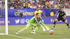 Матч сборных Мексики и Ямайки за Золотой кубок КОНКАКАФ