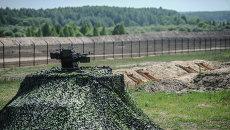 На участке границы Украины с Россией. Архивное фото
