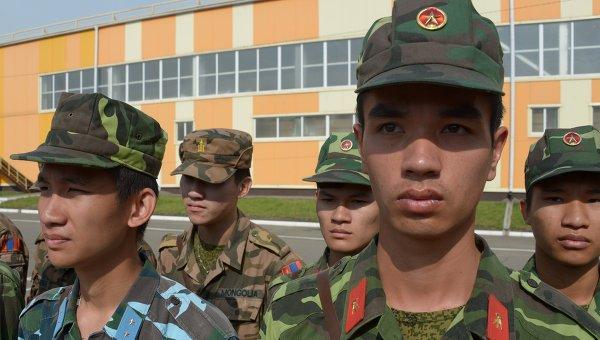 Военнослужащие вооруженных сил Китайской Народной Республики