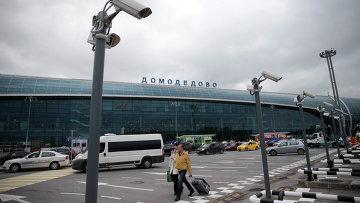 Вид на Московский аэропорт Домодедово. Архивное фото