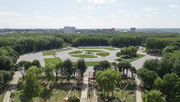 Центральный парк Тулы. Архивное фото