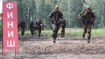 Всеармейский конкурс Отличники войсковой разведки в Новосибирске. Архивное фото
