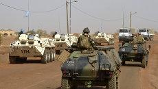 Военный патруль миротворцев ООН в Мали. Архивное фото
