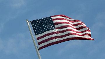 Американский флаг. Архивное фото