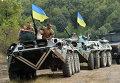 Учения украинских военнослужащих. 11 августа 2015