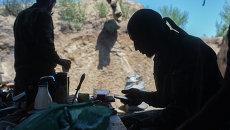 Бойцы батальона Викинги народного ополчения ДНР. Архивное фото