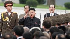 Ким Чен Ын, архивное фото