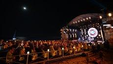 Зрители на Международном джазовом фестивале Koktebel Jazz Party. Архив