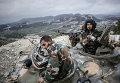 Танкисты правительственных войск сирийской армии
