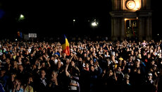 Лозунги и песни за отставку правительства, или Как прошла ночь в Кишиневе