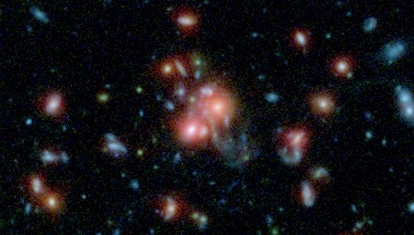Звездное скопление SpARCS1049+56