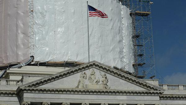 Капитолий в Вашингтоне, архивное фото