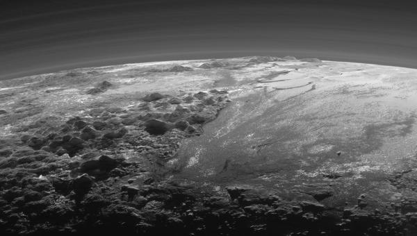 Изображение Плутона, полученное зондом New Horizons. Архивное фото