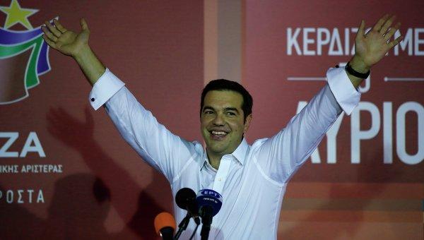 Лидер партии СИРИЗА Алексис Ципрас. Архивное фото