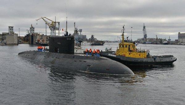Подводная лодка. Архивное фото