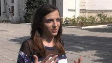 Счастлива, что я здесь – студентка из Польши о поездке делегации в Крым